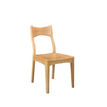 联邦轻时尚系列F15806FA餐椅(原木色)