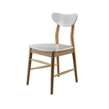 联邦轻时尚系列F15807BA-1餐椅(原木色)