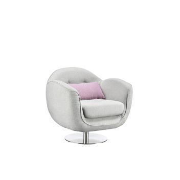 联邦轻时尚系列F15806FA-1(1R)花瓣沙发(单人位)