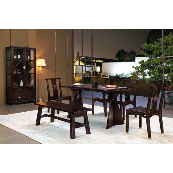 苏园 新中式餐椅8611
