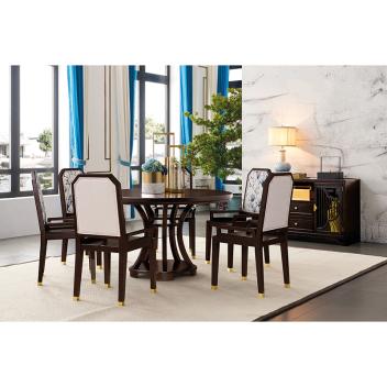 苏园 新中式餐椅8613