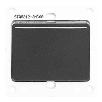 西门子 映彩系列 一位单控大跷板开关 带荧光指示 5TA82123NC08 灯墨黑