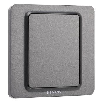 西门子映彩系列空白面板5UH82133NC08灯墨黑