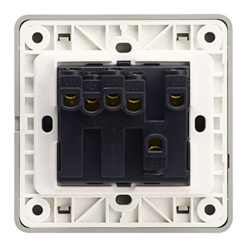 西门子映彩系列三位单控大跷板开关(带荧光指示)5TA82323NC09月石灰