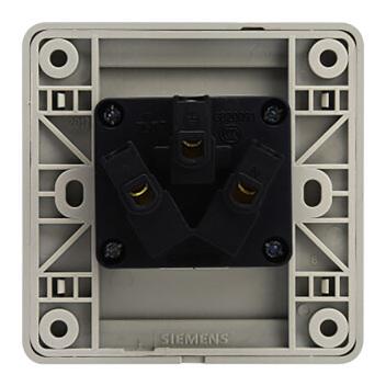西门子映彩系列一位16A三极插座  5UB82433NC09月石灰