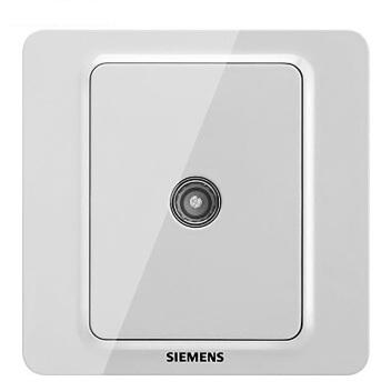 西门子映彩系列一位电视插座(5-850MHz)5UH82313NC09月石灰