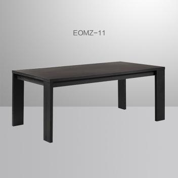 艾沃意式极简木面长餐桌EOMZ-11