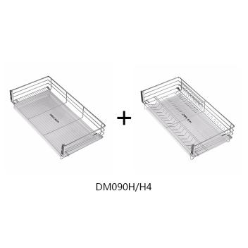 聪信900柜 三边平网篮+三边碗碟篮(DM090H/H4)