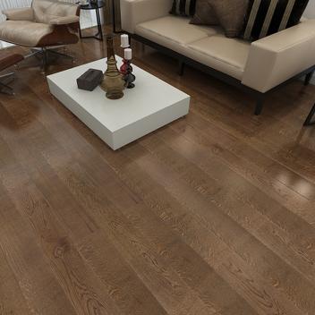 德尔多层实木木地板 柞木ASXSF07(裸板)