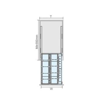 聪信调味篮 CX11351一W(350柜适用)