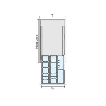 聪信调味篮 CX11401一W(400柜适用)