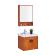 浪鲸卫浴进口橡胶木浴室柜 BG0808