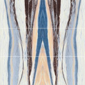 玛缇瓷砖背景墙 蓝宝石·幻想曲TCH80B01(九合一)