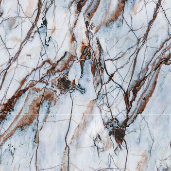 玛缇瓷砖背景墙 抽象画TCH80B60(九合一)