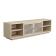 优梵艺术 Barlow巴洛系列现代美式浅木色简约电视柜 157108白色 1.8m