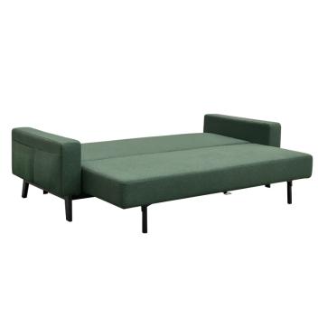 优梵艺术 HomeStation-Tracy特雷西北欧艺术简约绿色沙发床 351022