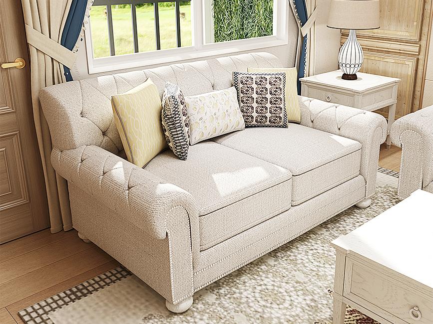 美式田园沙发